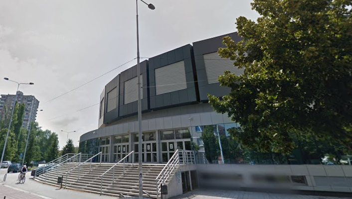 Спортска хала ,,Чаир'', фото: Гугл мап