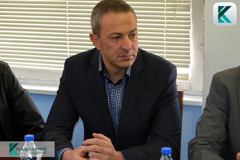 Председник општине Књажевац, фото: М. Миладиновић, Књажевачке новине
