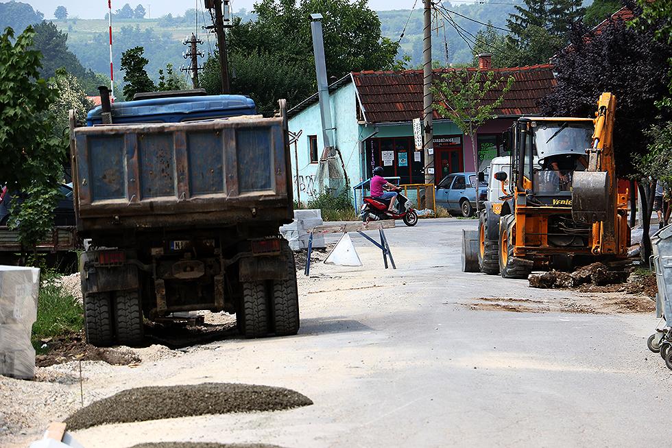 Припреме за асфалтирање, фото: Марко Миладиновић
