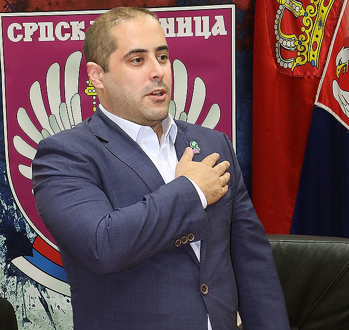 Председник Српске деснице, Миша Вацић, фото: М.М.