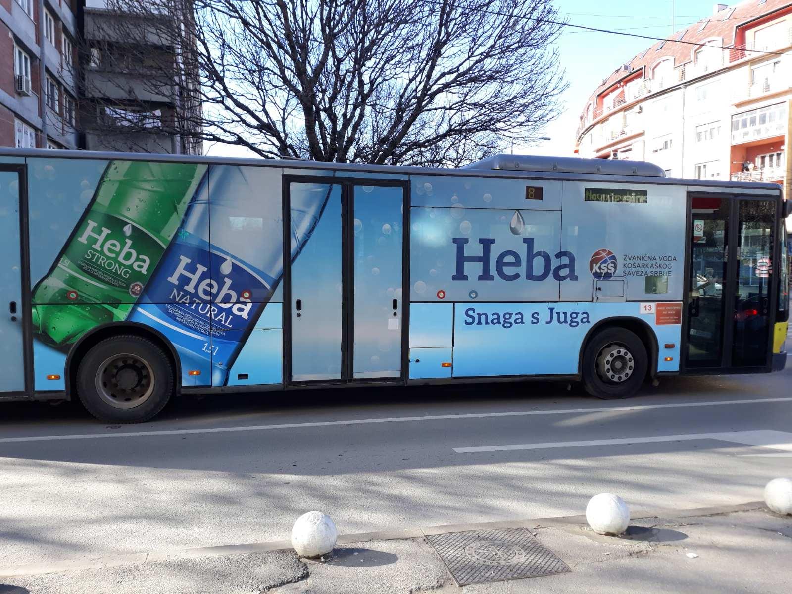 Аутобус, град Ниш, фото: М. Т.