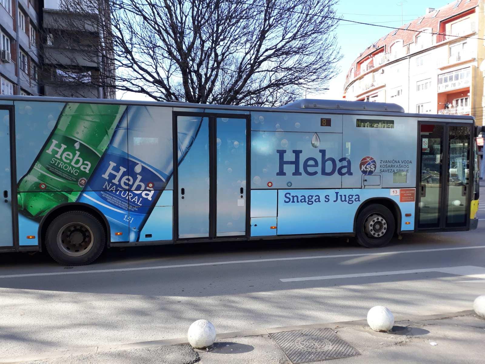 Архивска, аутобус, фото: Нишке новине, аутор: М.К.