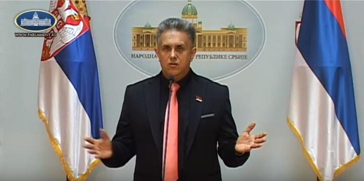 Милетић, фото: Парламент Србије