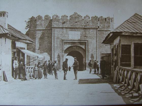 Опис: Град Ниш, Србија, 1878. година, Аутор: Аuteur inconnue, Википедија