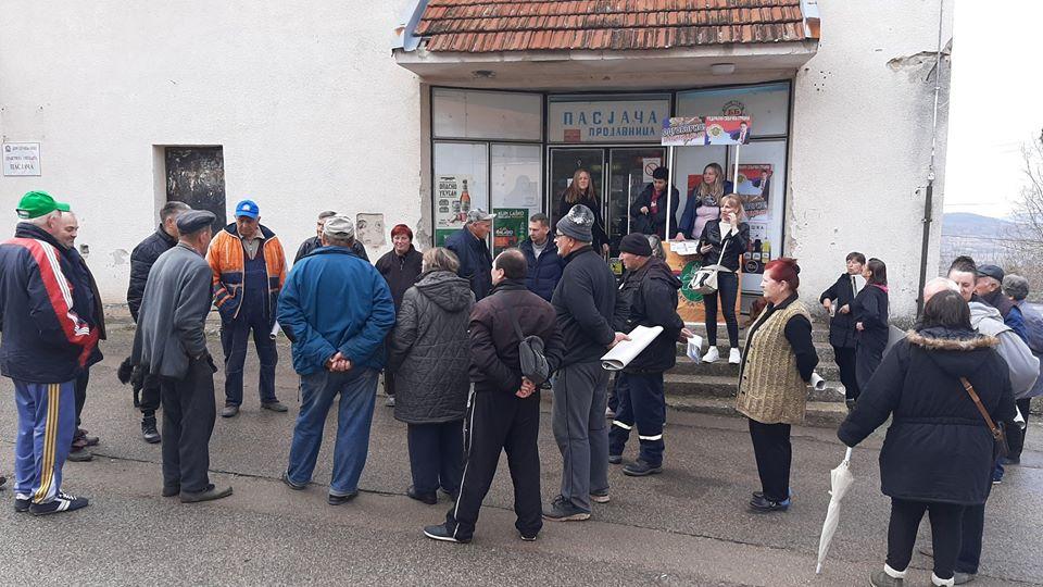 УСС се шири, подршка у Пасјачи, фото: Н.М.