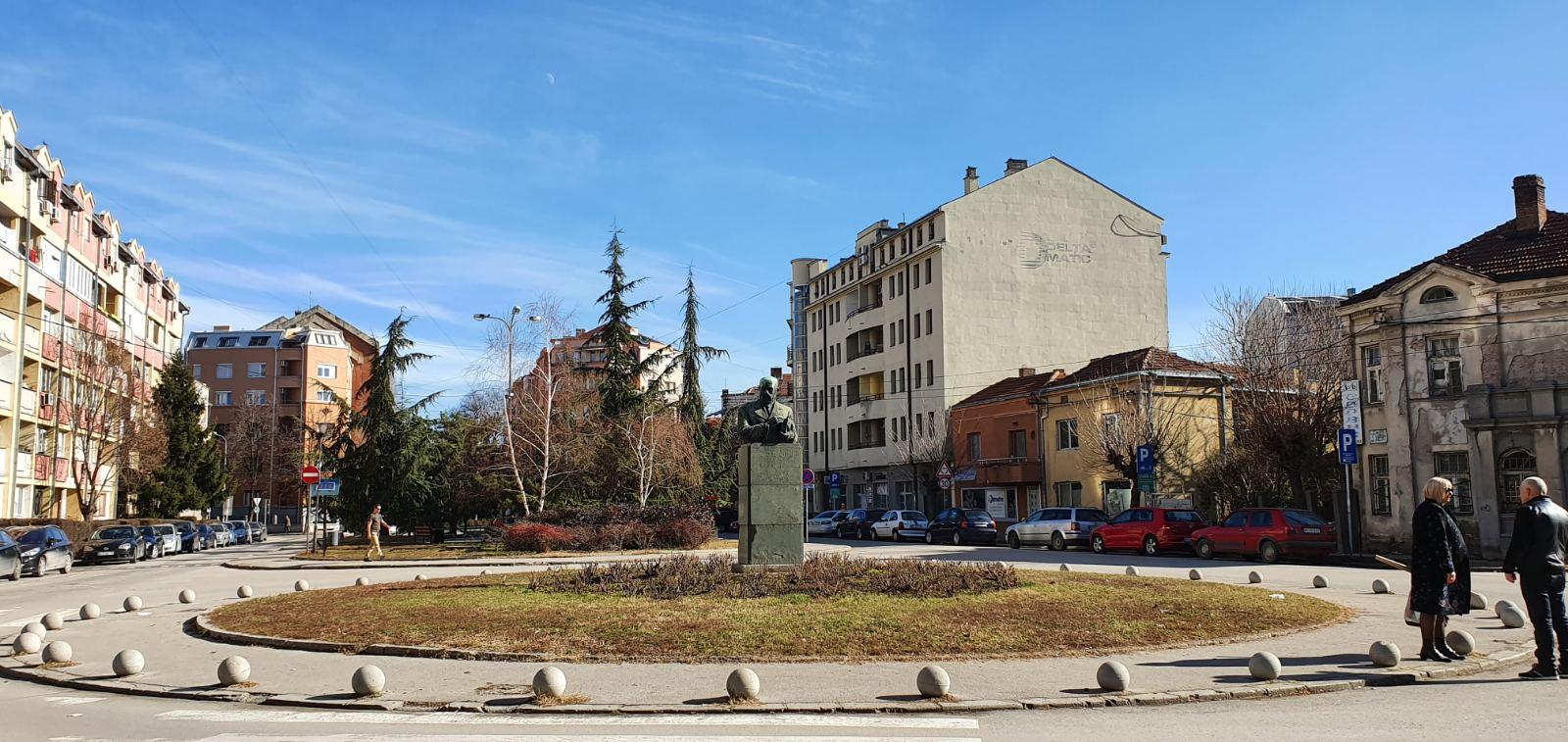 Трг учитеља Тасе, фото: К. Михајловић, Нишке новине