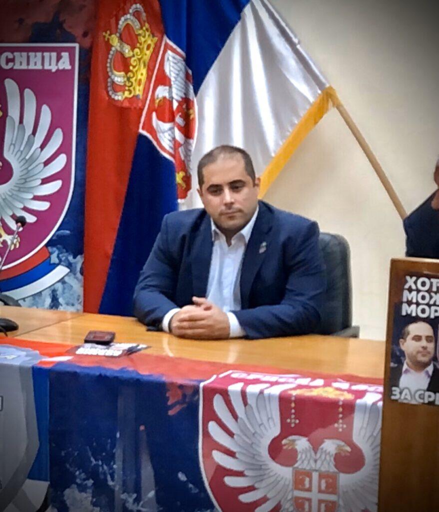 Председник СД Миша Вацић, фото: Нишке новине