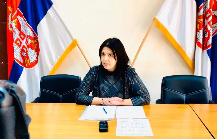 Председница општине Сврљиг, Јелена Трифуновић, фото: Сврљишке новине