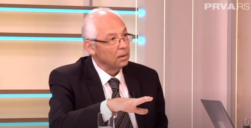 Др Предраг Кон, гостовање на ТВ ,,Прва'', преузето са јутјуб канала