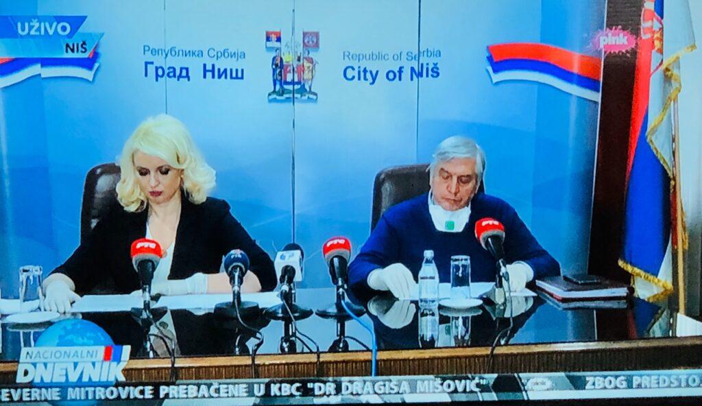 Конференција у Нишу, фото ТВ Пинк,