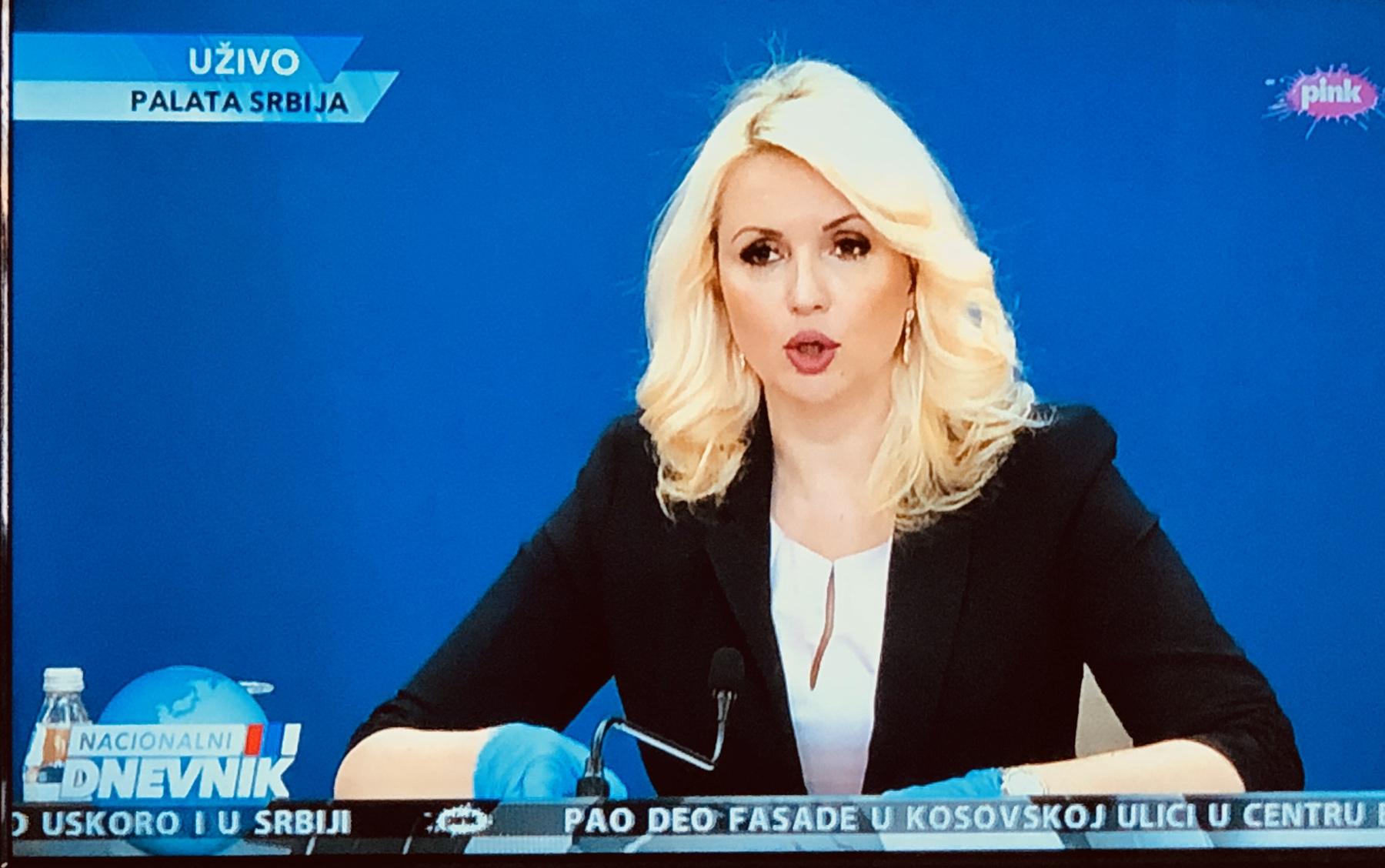 Др Кисић, фото: ТВ Пинк, тв пријем