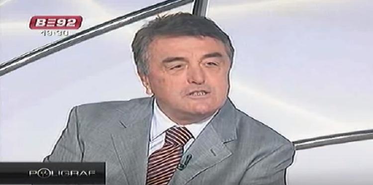 Радомир Антић гостује на ТВ Б92 2009. године, фото: Б92 скриншот јутјтуб