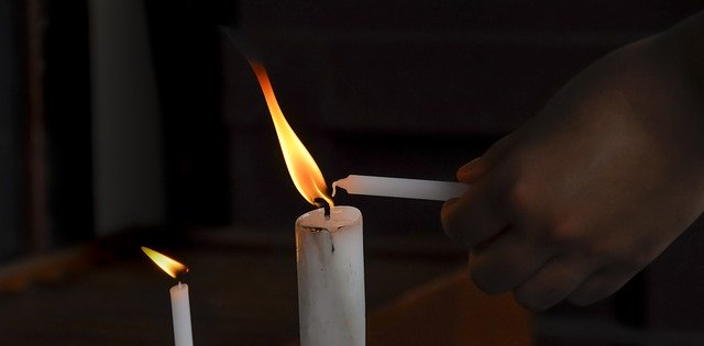 Свећа, илустрација, преузето: Pixabay.com, pexels
