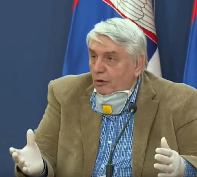 Тиодоровић, конференција у Влади Србије, скриншот РТС