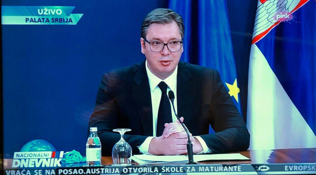 Председник Србије, фото: Пинк