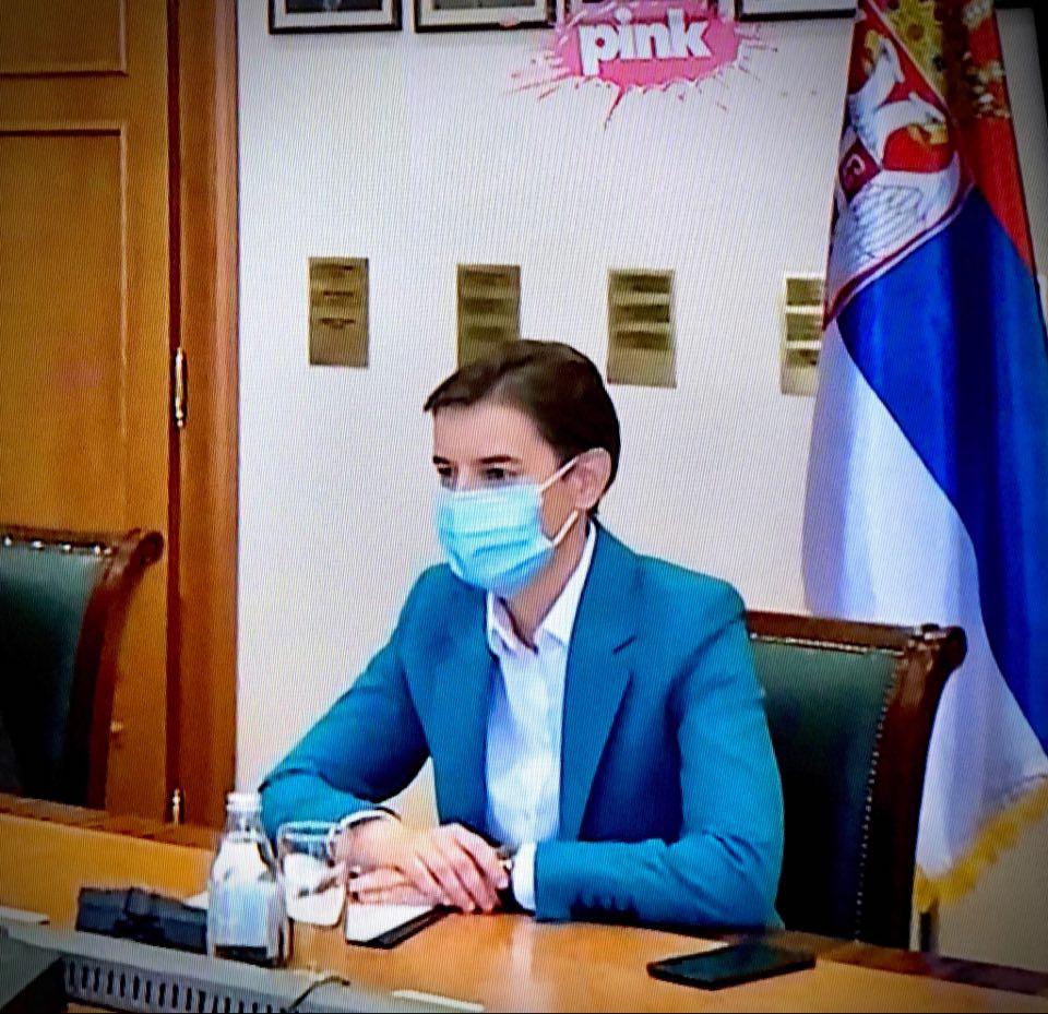 Ана Брнабић, фото: ТВ Пинк