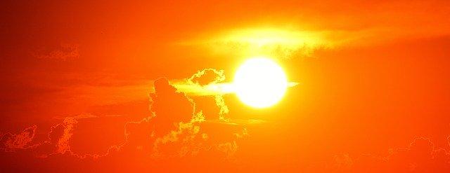 Сунце, илустрација, фото: pixabay.com