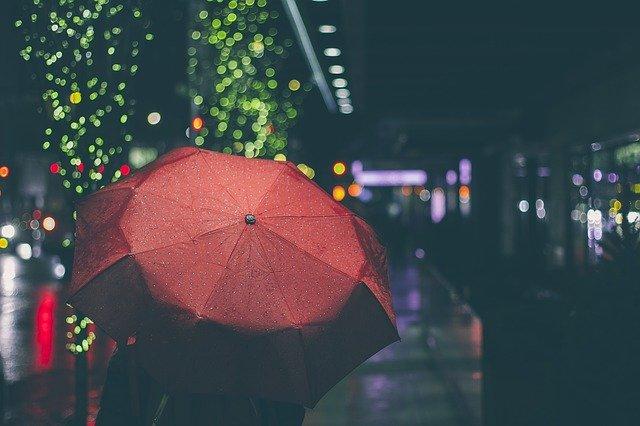 Кишобран, киша, илустрација, фото: Пиксабеј