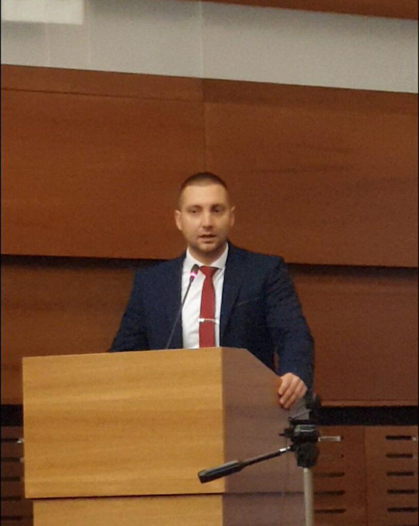 Председник општине Сврљиг Мирослав Марковић