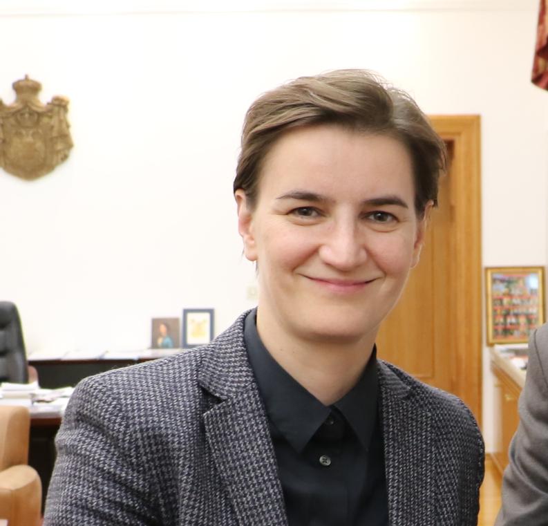 Ана Брнабић, фото: Нишке новине