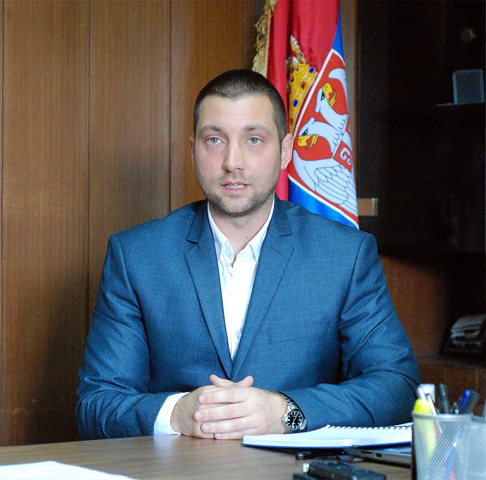 Председник општине Сврљиг, Мирослав Марковић, фото: М.М.