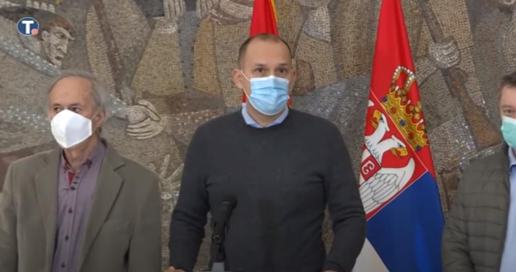 Министар Златибор Лончар, фото: Јутјуб Танјуг