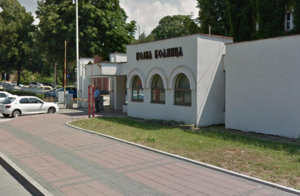 Војна болница Ниш, фото: Гугл