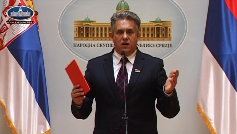 Народни посланик Милетић, фото: Парламент