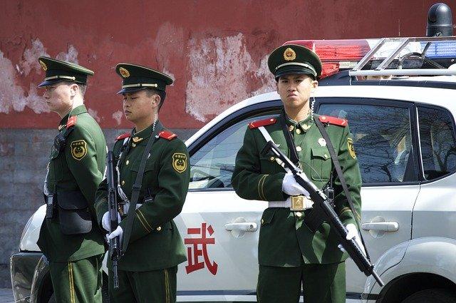 Кинеска полиција, фото: Пиксабеј